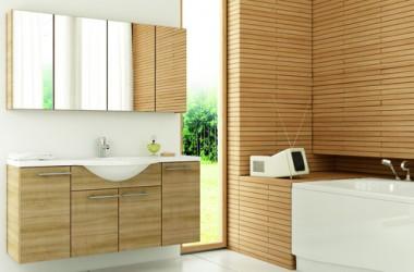 Otul łazienkę drewnem