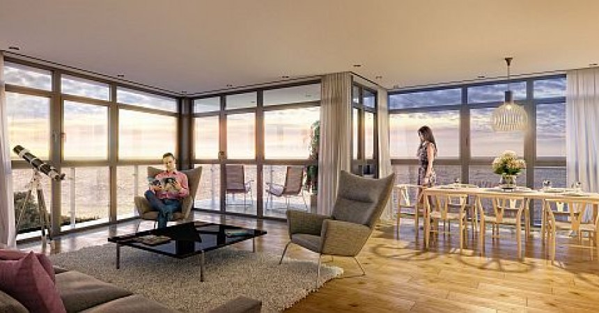 Dotknij morza z apartamentu Dune – teraz to możliwe