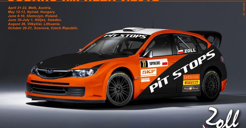 Łukasz Zoll i zespół Zollracing Rallycross Team rozpoczynają sezon 2012!