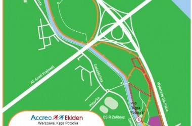 Znamy trasę sztafety Accreo Ekiden