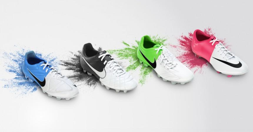 Nike prezentuje kolekcję butów piłkarskich Nike Clash