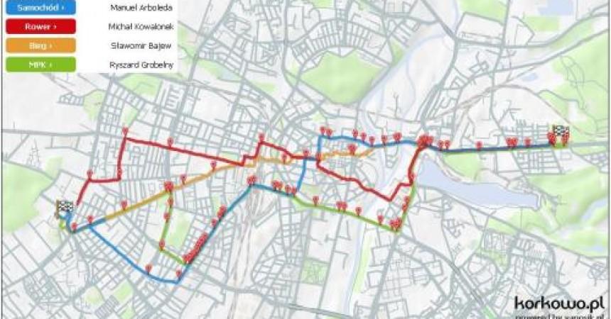 Drugi wyścig ulicami Poznania – sprawdź kto najszybciej dotrze na stadion?!