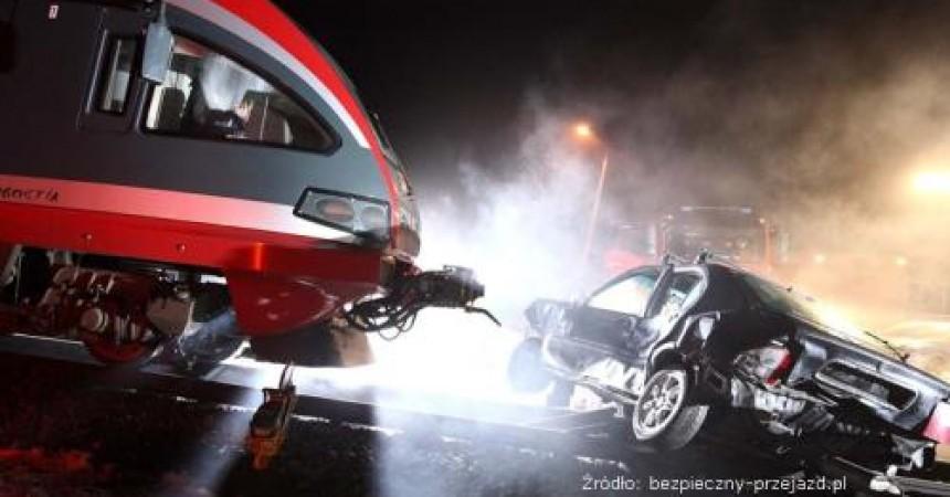 Zobacz symulację wypadku na przejeździe kolejowym!