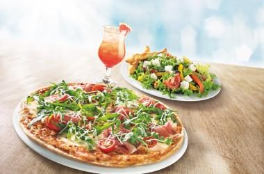 Nowe, lekkie menu w Pizza Hut – pomysł na wakacyjne spotkanie z koleżankami