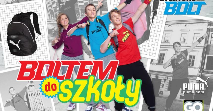 Boltem do szkoły – wspólny konkurs Go Sport oraz PUMY