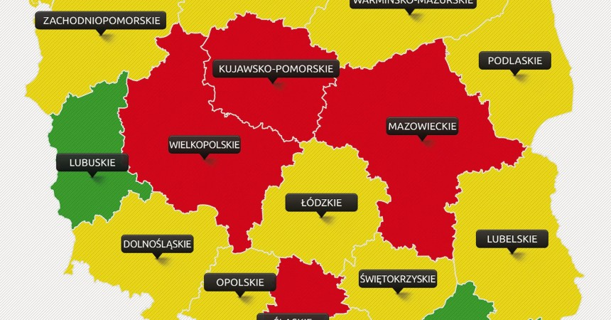Ogólnopolska mapa cen AC
