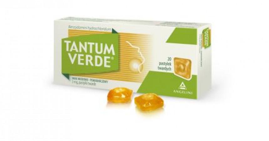 Tantum Verde Pastylki do ssania o smaku miodowo-pomarańczowym!