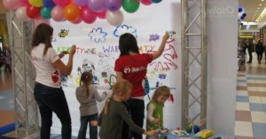 Warsztaty kreatywności w Centrum Handlowym Osowa
