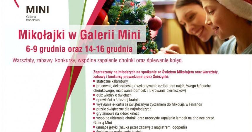 Przedsmak Świąt w Galerii Mini