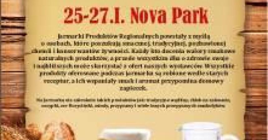 Jarmark Produktów Regionalnych w NoVa Park