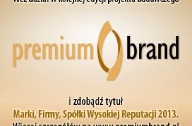 Ruszyła kolejna edycja PremiumBrand!