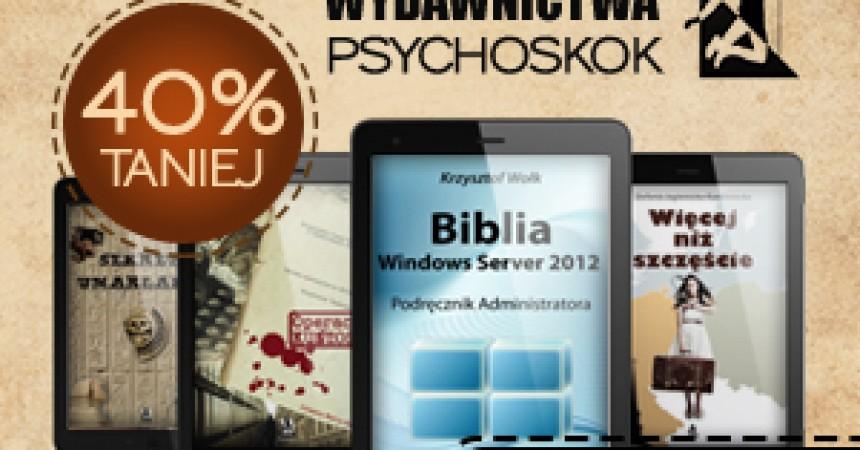 Uciekające Rabaty na ebooki z Wydawnictwem Psychoskok