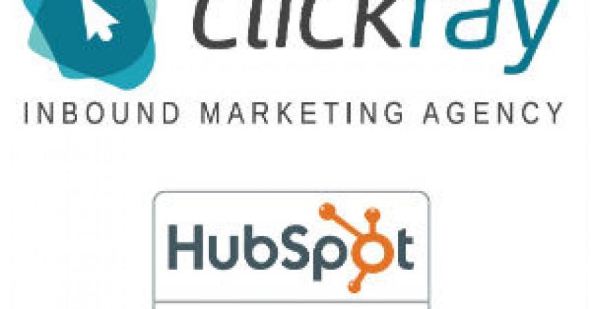 Clickray otrzymało certyfikat Hubspot.