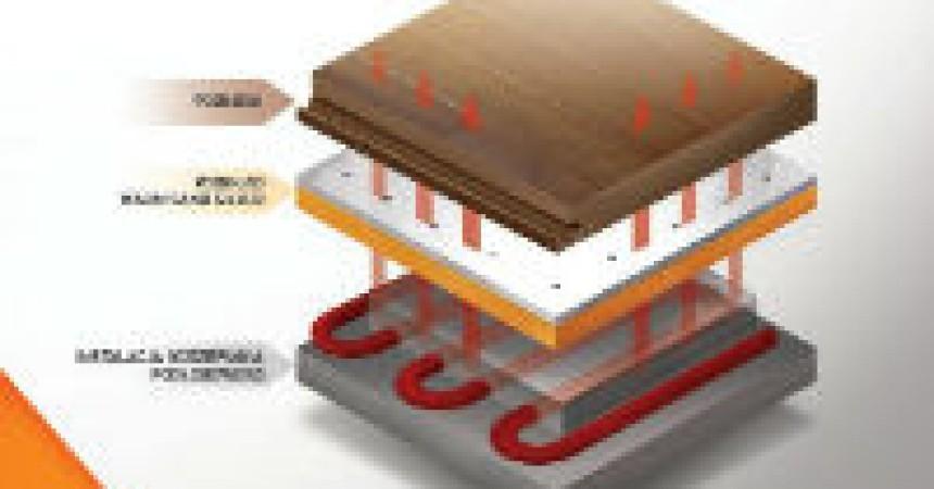 Warm Sand Silver – pierwszy podkład na ogrzewanie podłogowe, który jednocześnie redukuje straty ciepła