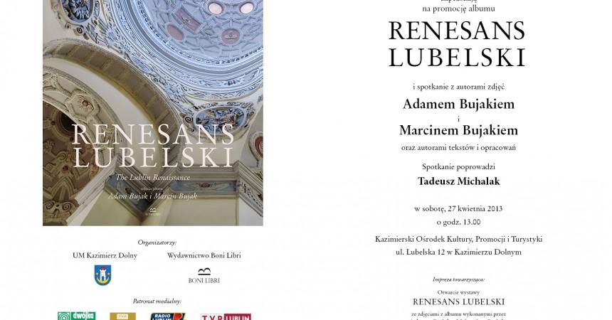 """Renesans Lubelski"" – promocja nowego albumu fotografii Adama Bujaka"