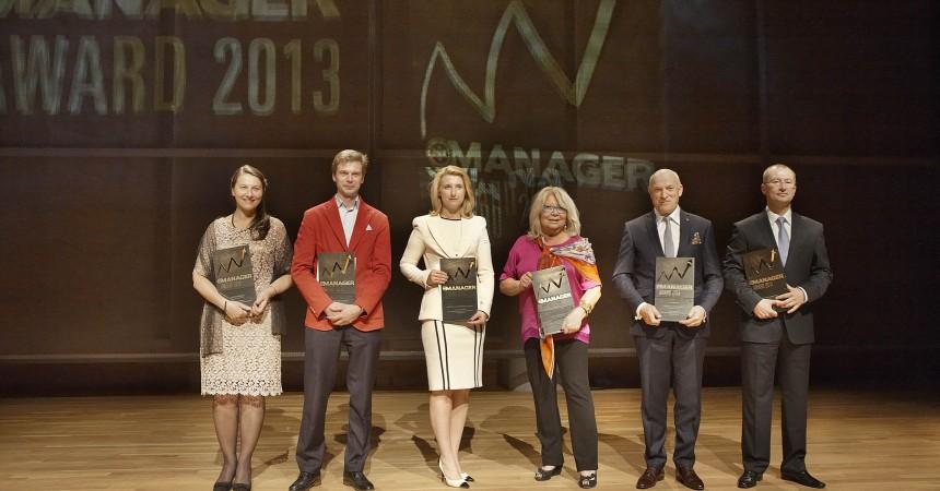 MANAGER AWARD 2013 – statuetki dla top managerów wręczone
