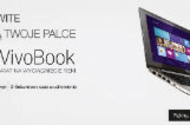 Wygraj 300 zł z VivoBookami ASUS