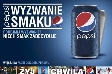 """Pepsi ogłasza """"Wyzwanie Smaku"""""""