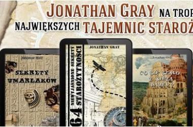 Promocja ebooków Jonathana Graya – 50% taniej
