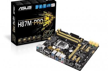 Podkręcanie procesorów Haswell na płytach głównych ASUS H87 i B85 będzie możliwe