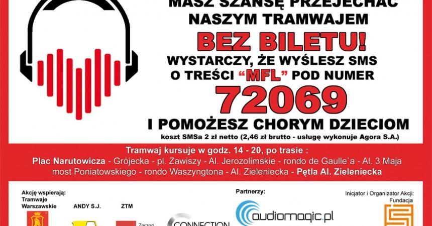 Ratuj słuch z muzycznym tramwajem!