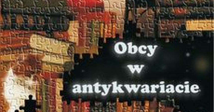 Obcy w antykwariacie – thriller science fiction Kalety