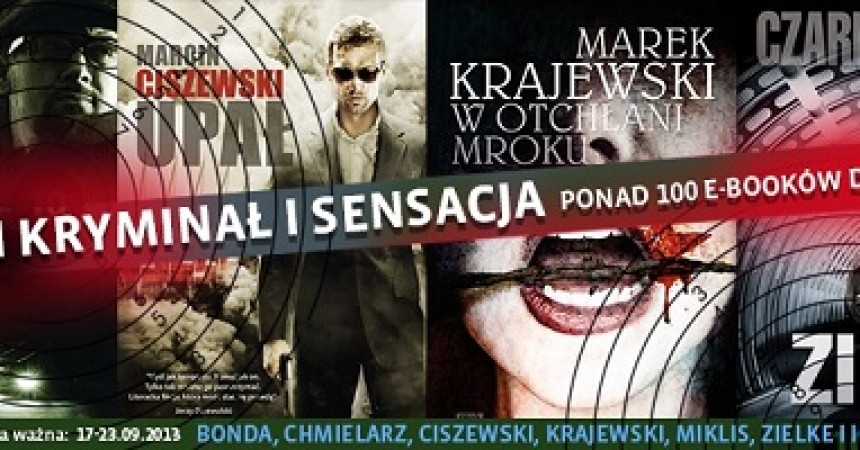 Promocja polskich kryminałów w Woblink.com