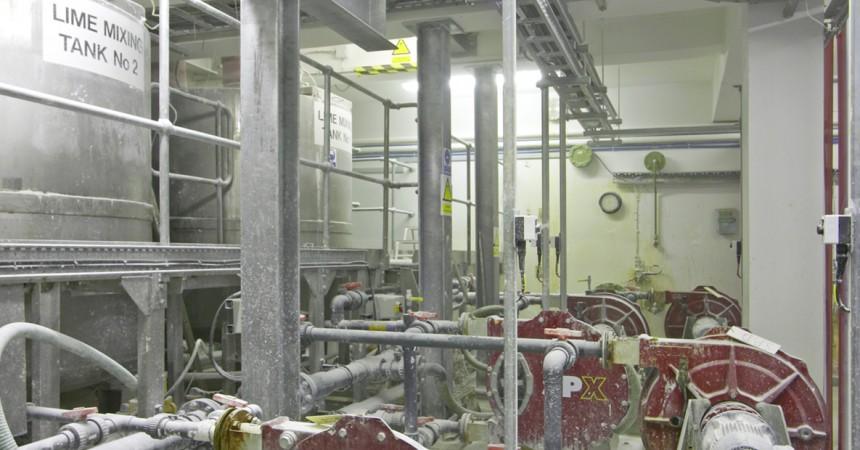 Precyzyjne dozowanie wapna w procesie uzdatniania wody – case study stacji Bamford WTW