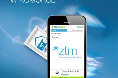 SkyCash z biletami komunikacji miejskiej w Poznaniu