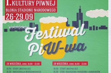 Na Stadion Narodowy zamiast do Monachium – Kompania Piwowarska zaprasza na Warszawski Festiwal Kultury Piwnej