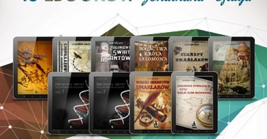 Mega zestaw Jonathan Gray – 10 ebooków za 58.99 zł!