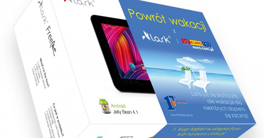 Przedłuż wakacje z LARK Nowa promocja tabletów w sklepach RTV AGD