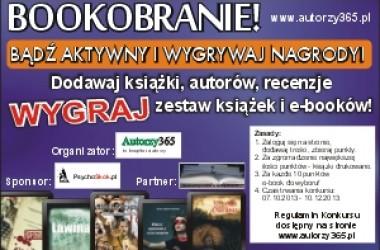 Bookobranie! Konkurs portalu autorzy365.pl