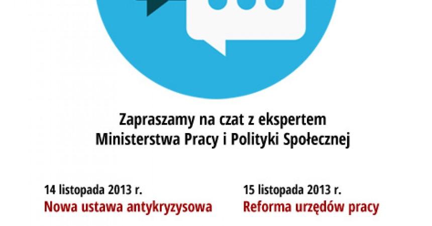 Porozmawiaj z ekspertem ministerstwa on-line!