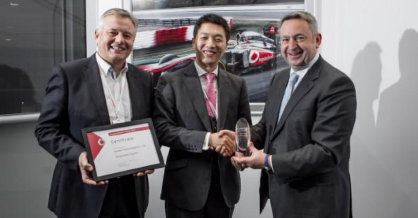 Firma HUAWEI wyróżniona prestiżową nagrodą przez Vodafone