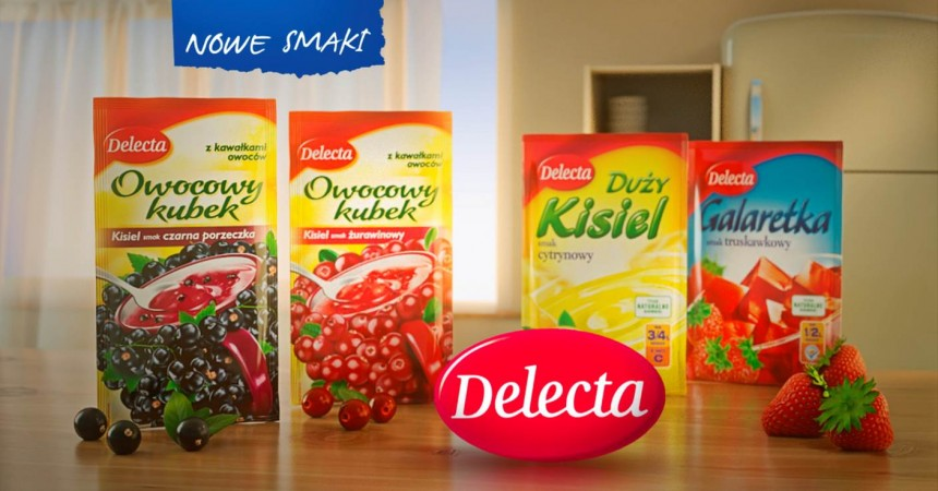 Delecta reklamuje desery
