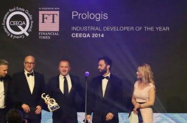 Prologis Wybrany Przemysłowym Deweloperem Roku 2013  na Gali Central & Eastern European Quality Awards