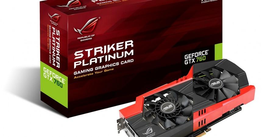 ASUS Striker GTX 760 Platinum wchodzi do gry