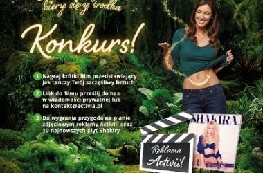 Zatańcz w reklamie Activii obok Shakiry