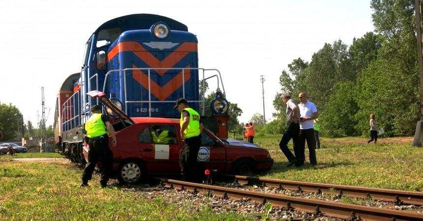 Bezpieczeństwo na przejazdach kolejowych
