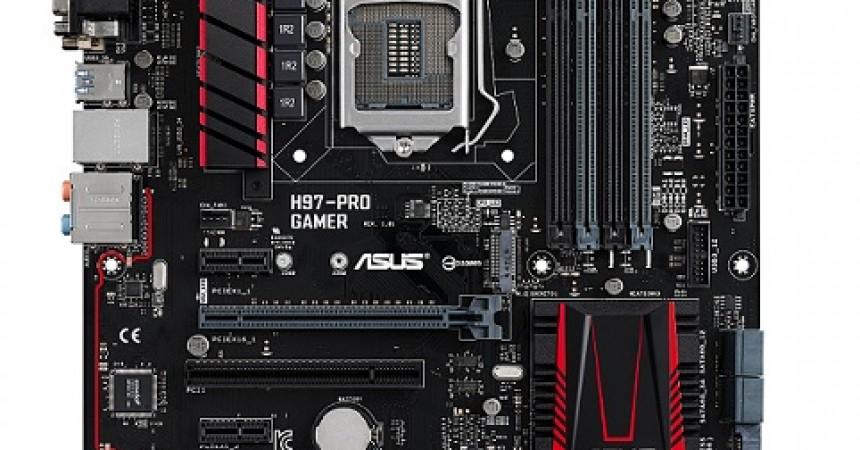 Funkcje dla graczy i chipset H97 – nadchodzi płyta główna ASUS H97-Pro Gamer