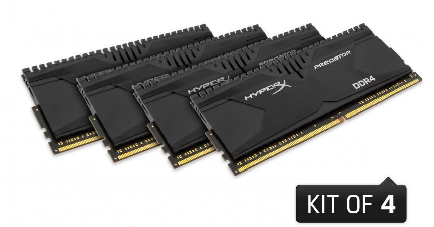 HyperX prezentuje pamięci Predator DDR4