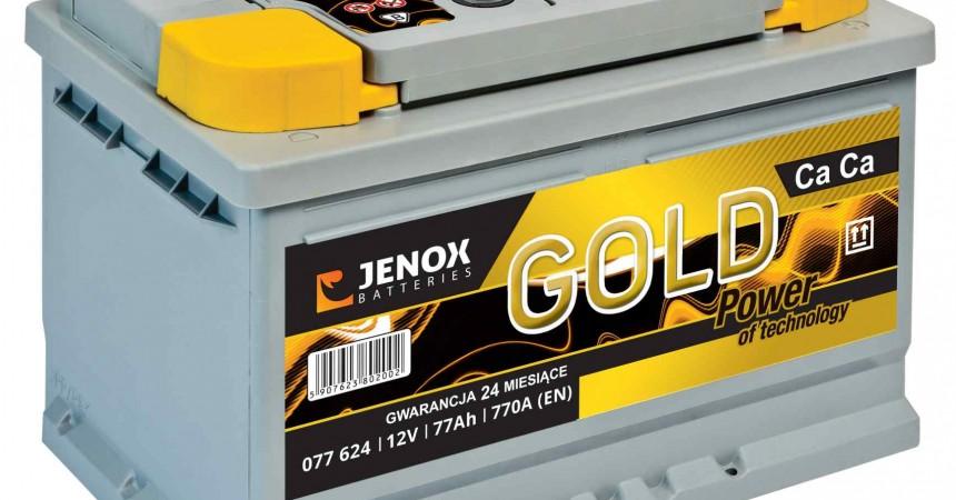 Jenox z nowym akumulatorem Gold