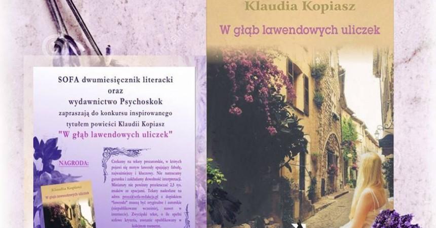 Konkurs lawendowy Sofy i Wydawnictwa Psychoskok