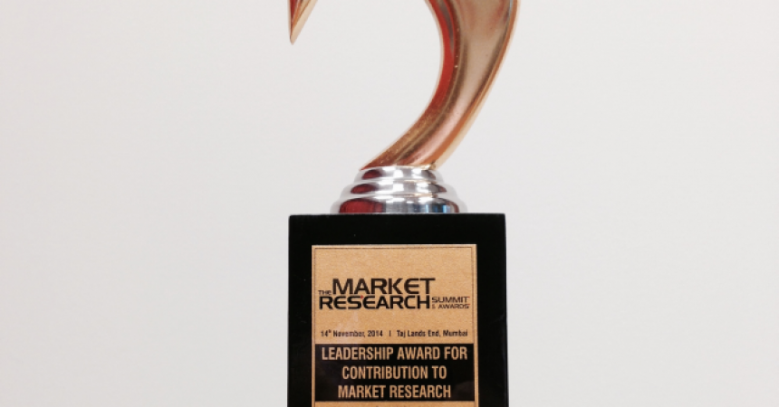 "Tadeusz Żórawski nagrodzony ""LEADERSHIP AWARD FOR CONTRIBUTION TO MARKET RESEARCH"""