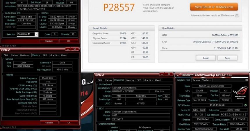 ASUS Republic of Gamers zapowiada kartę graficzną Matrix GTX 980