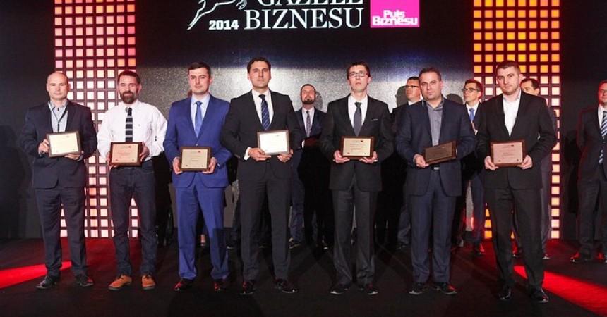 """XV edycja rankingu """"Gazele Biznesu"""" 2014 – Amwin w gronie najdynamiczniej rozwijających"""