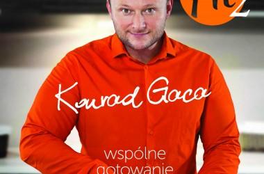 """JEDZ ZDROWO I POMYSŁOWO – Premiera książki Konrada Gacy """"Kuchnia Fit 2. Wspólne gotowanie"""""""