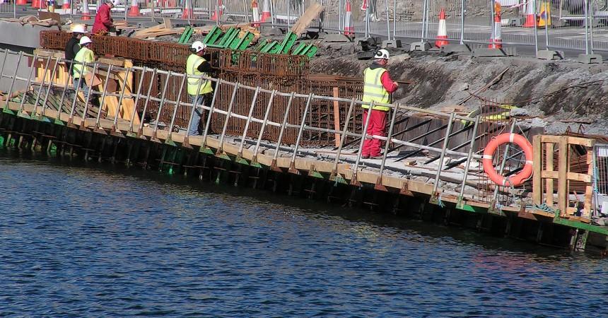 Jak wygląda betonowanie pod wodą?