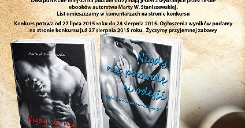 Wygraj książki Marty W. Staniszewskiej